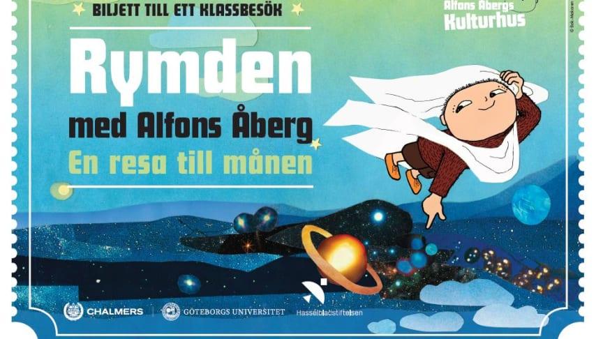 Bild: Biljett till ett klassbesök på Alfons Åbergs Kulturhus