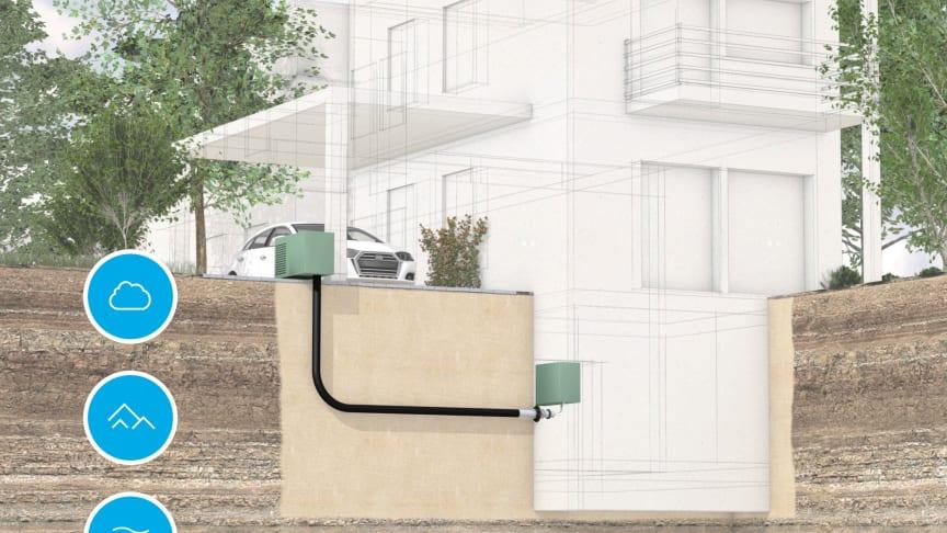 """DOYMA stellt Planungshilfe """"Hauseinführungen für Wärmepumpen"""" vor"""