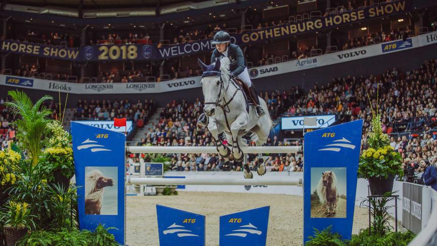 ATG är mångårig samarbetspartner till Svenska Ridsportförbundet och Gothenburg Horse Show. Nu får den populära hoppserien ATG Riders League en stor final i Göteborg. Foto: Natalie Greppi