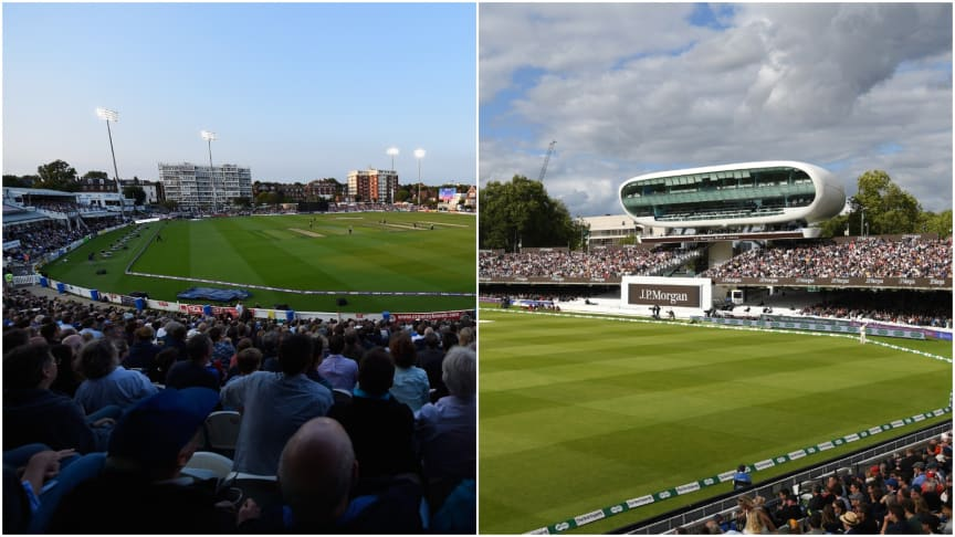 Hove (left) and Lord's will host The Hundred Finals Days in August 2020