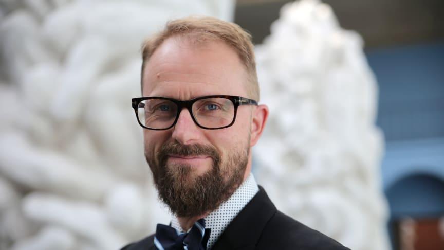 - Vi ser at interessen for Gustav Vigelands kunst internasjonalt øker, sier Jarle Strømodden, museumsleder ved Vigeland-museet. (Foto: Unni Irmelin Kvam / Vigeland-museet)