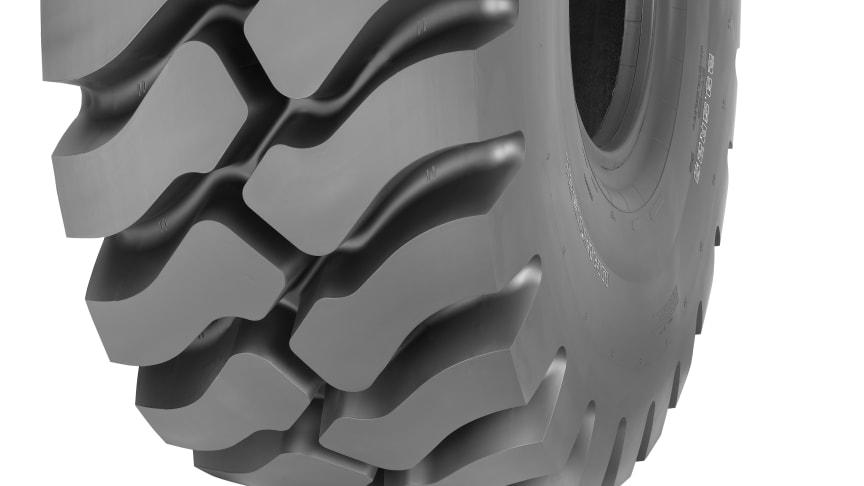 Världspremiär för Goodyears nya hjullastardäck på BAUMA 2013
