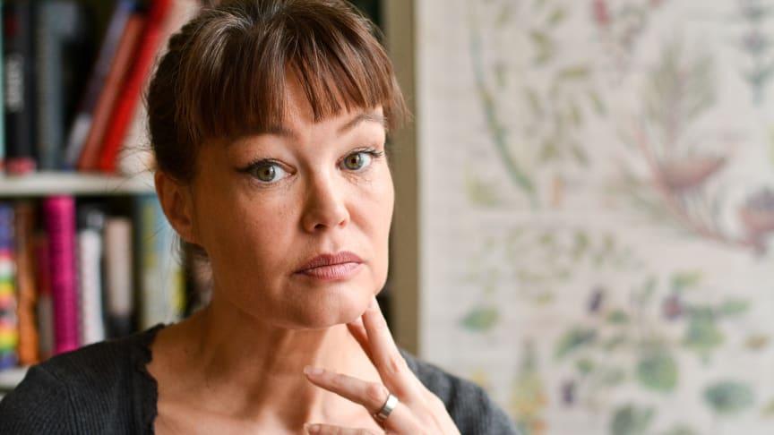 Nina Björk kommer till Stadsteatern 5 mars. Fotograf: Stina Nylén