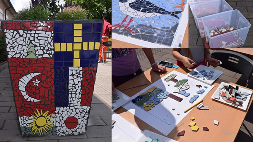 Solig avslutning på mosaikprojektet