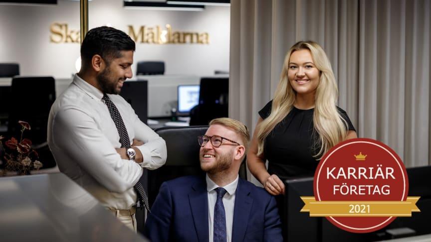 SkandiaMäklarna - Karriärföretag 2021