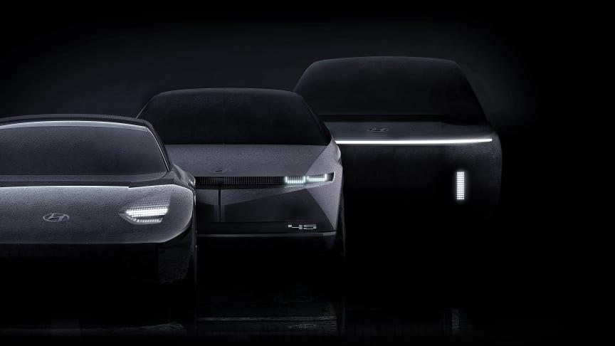 Hyundai lanserer IONIQ som eget dedikert undermerke for elbiler. Foto: Hyundai