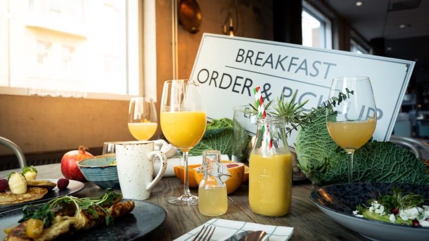 Frukostbuffén på Nelly's är uppdaterad med stans härligaste á la carte-meny inkluderad i konceptet.