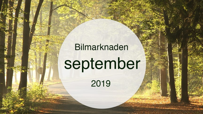 Bilmarknaden September