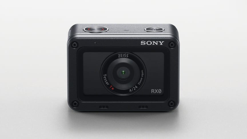 Sony lancerer ultrakompakt, robust og vandafvisende RX0