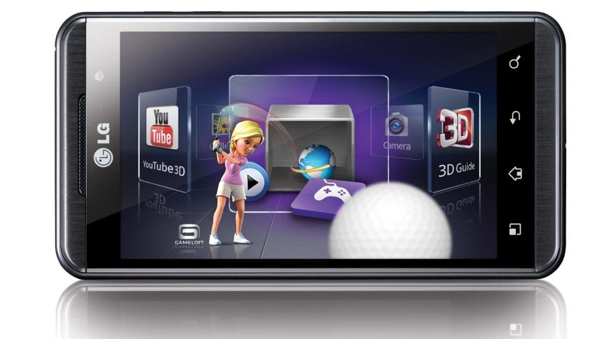 LG Optimus 3D er klar