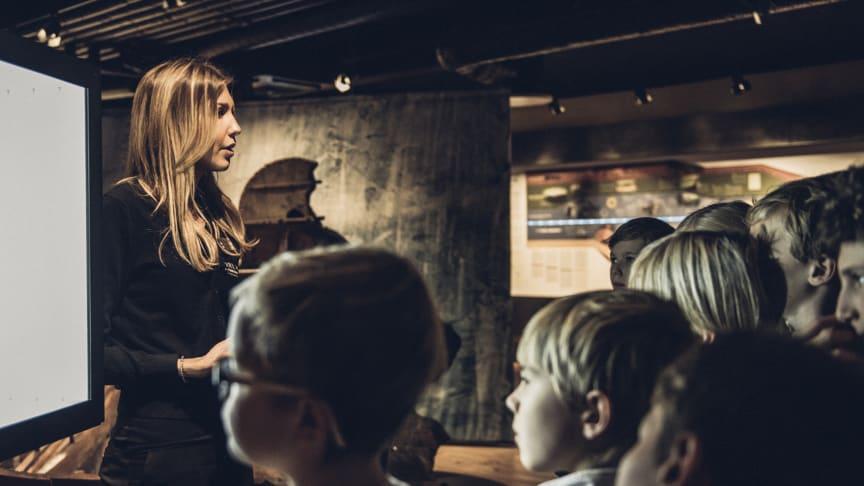 The Viking Museum bjuder in till Skype-lektioner