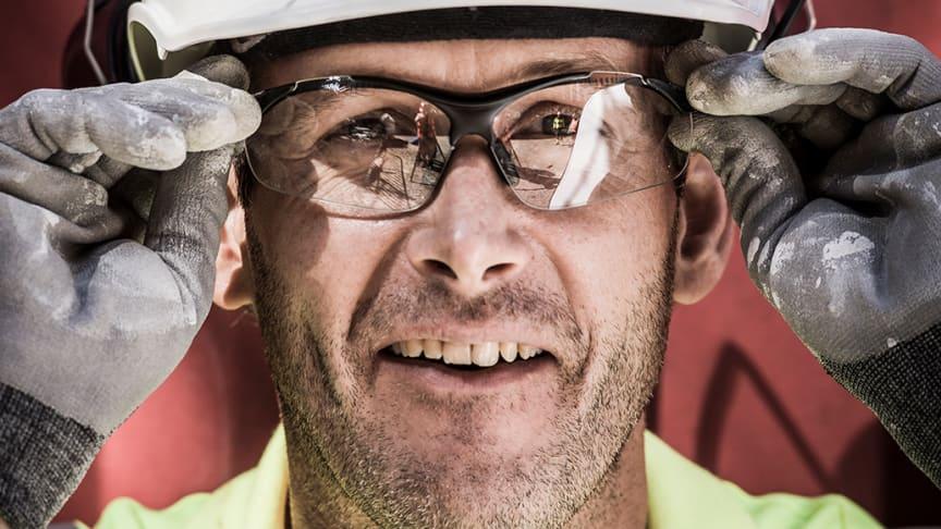 Skyddsglasögon med UV-skydd