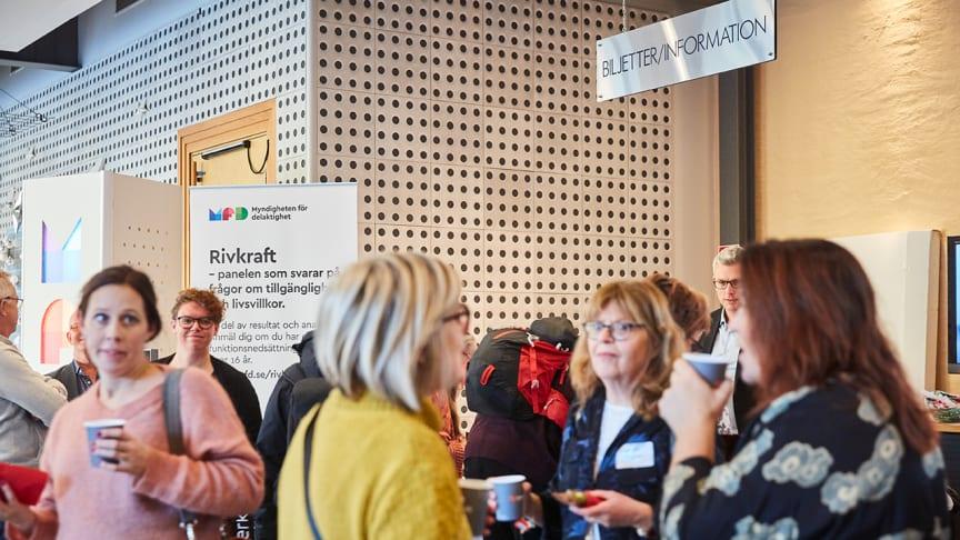 Bild från MFD:s konferens Delaktighetsdagen 2018. Foto: Pia Nordlander