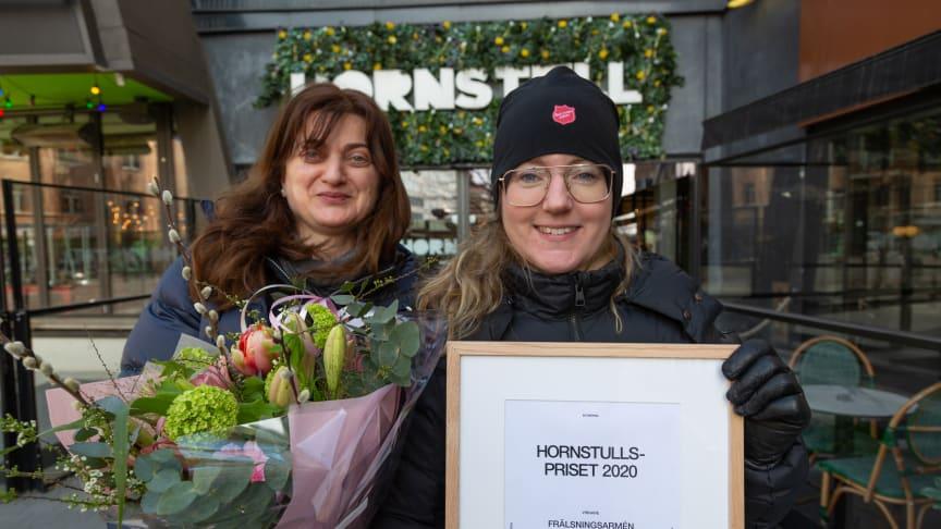 FRÄLSNINGSARMÉN VINNER HORNSTULLSPRISET 2020