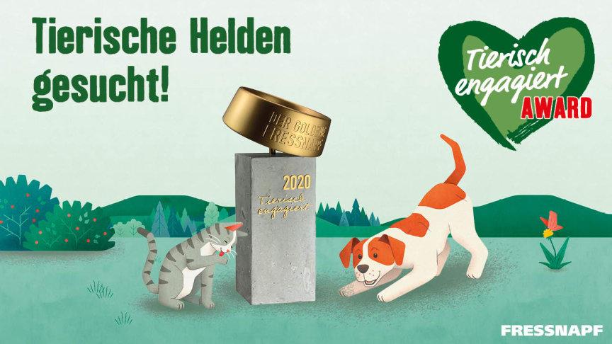 """""""Tierisch engagiert""""-Award: Tierische Helden und engagierte Tierschützer gesucht"""