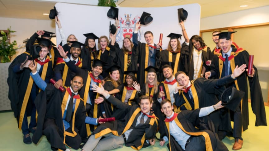 Northumbria University's first graduation ceremony in Amsterdam