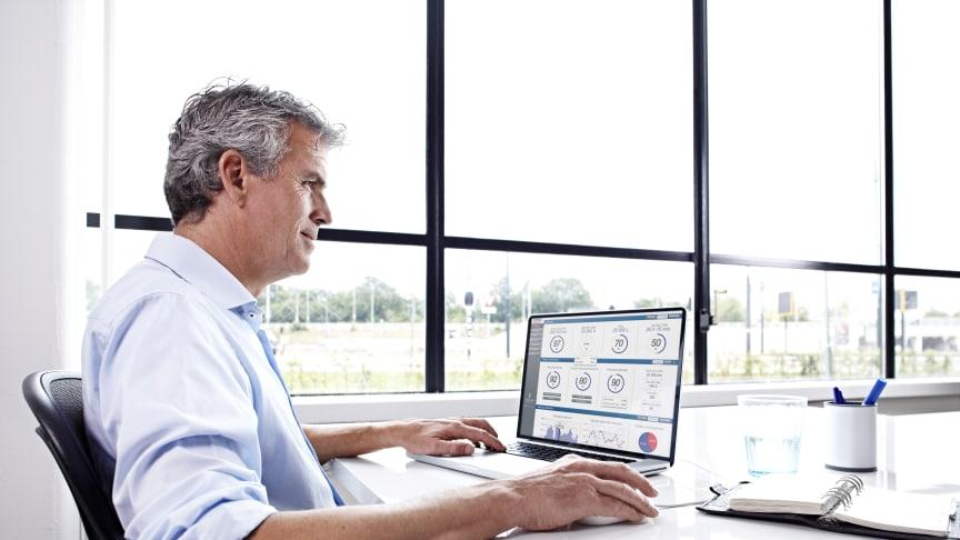DAF Trucks lanserar Remote Tacho Download för automatisk fjärravläsning, -lagring och -analys av förarkort och färdskrivare.