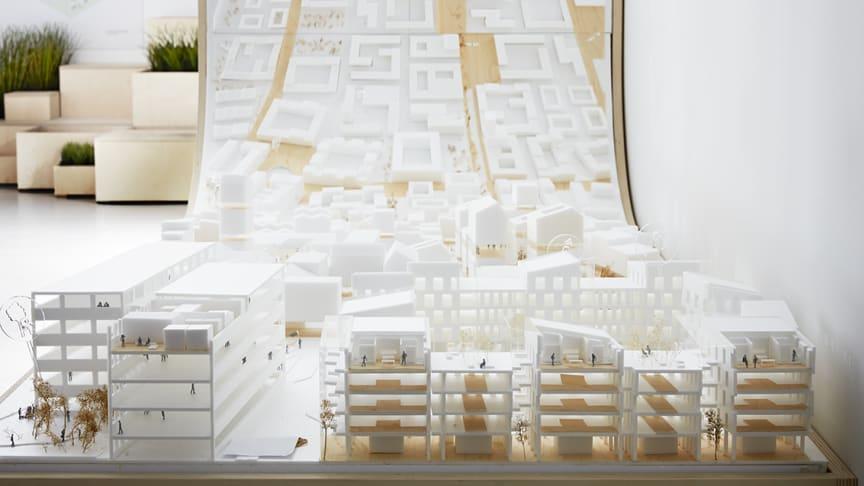 Visionsbild stadsdel © Inter IKEA Systems B.V. 2019