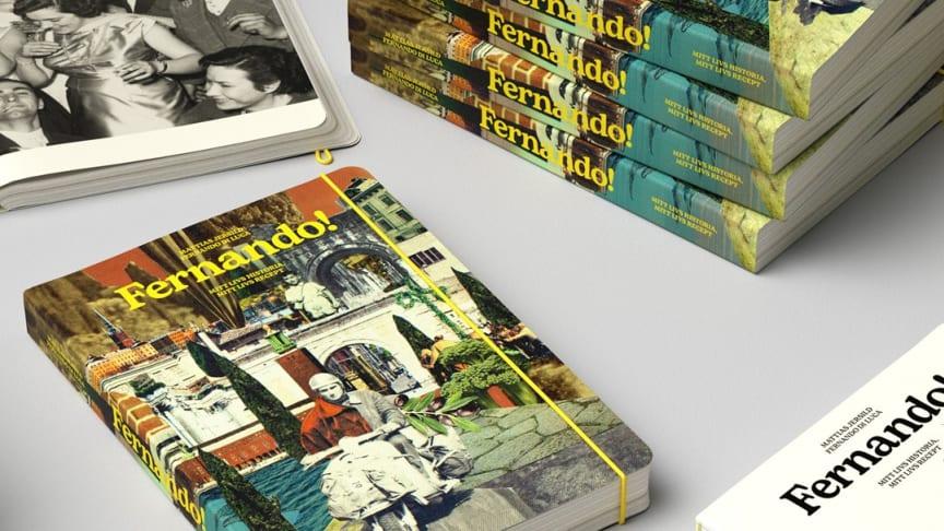 Fernando Di Lucas bok nominerad till Svenska Designpriset!
