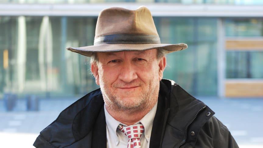 Apostolis Papakostas, professor på Södertörns Högskola. Bild: Eleonor Björkman, Södertörns högskola