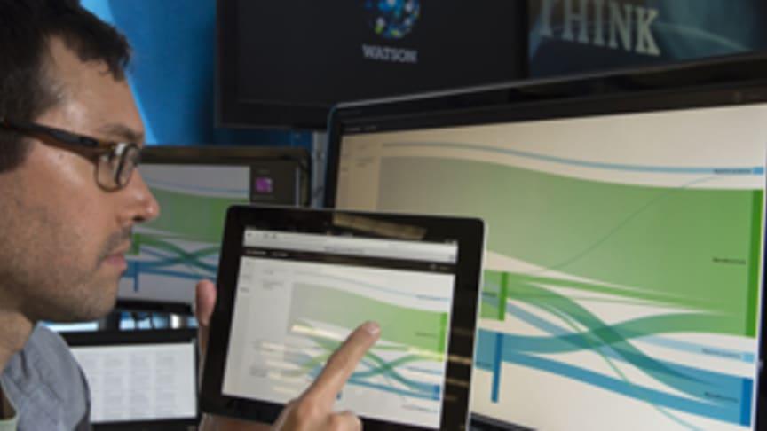 IBM lanserte i dag to nye kognitive teknologier som kan hjelpe leger