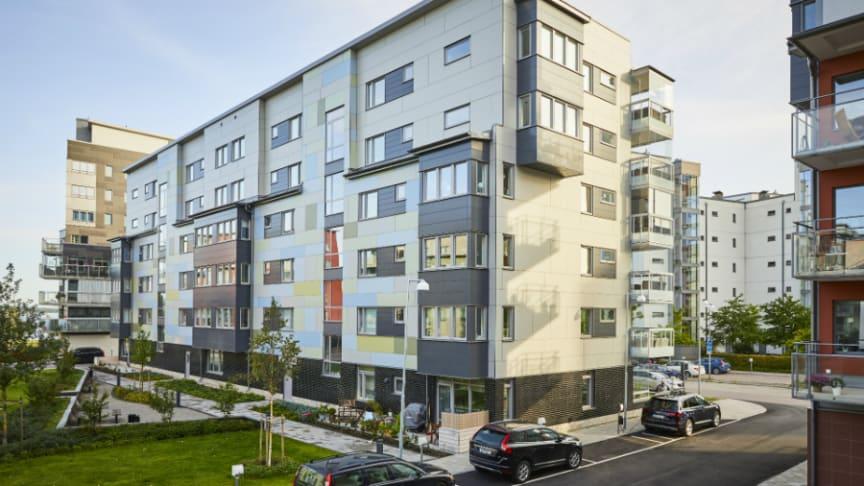 Hållbarhet: Boende ger Guld-nivå till Riksbyggens Brf Sjökortet i Västerås
