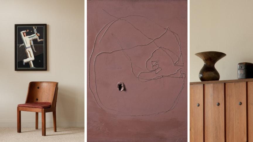 Ett urval av auktionens höjdpunkter som säljs den 10-11 maj på Bukowskis