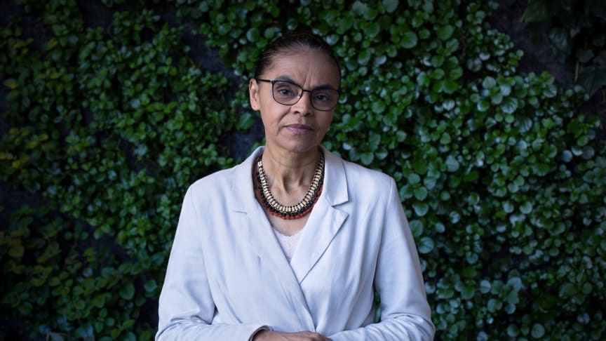 Marina Silva (61) har blandt andet været Brasiliens miljøminister under Lulas regering fra 2004-2007. Foto: David Diaz