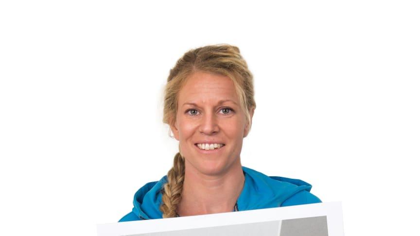 Sandra Borglin, plattsättare & snickare, kommer finnas på plats i Purus monter under Stora Villamässan.