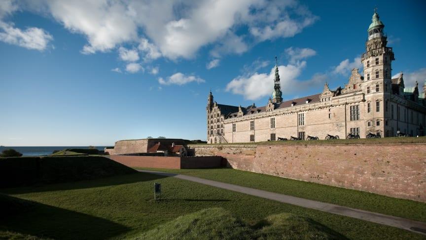 Das Schloss Kronborg in Helsingør gehört zum Weltkulturerbe (Bild: visitdenmark.dk).