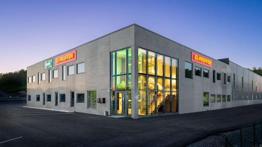 EL-PROFFENs kjedekontor i Kristiansand.