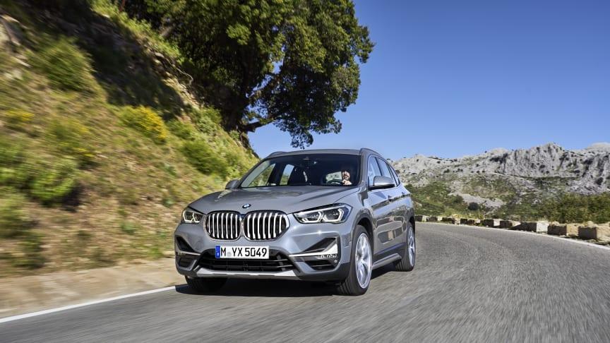 BMW:n X1-mallisto uudistuu - kohta myös pistokehybridi