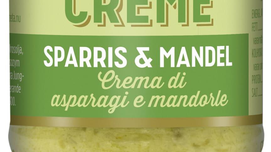 Produktbild Zeta Creme sparris och mandel