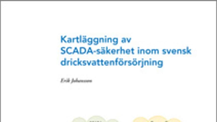 C SVU-rapport: Kartläggning av SCADA-säkerhet inom svensk dricksvattenförsörjning (dricksvatten)