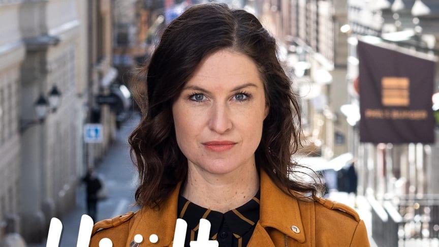 Jenny Burman driver Civilkuragebyrån och är kvinnan bakom podcasten Hjältarna.