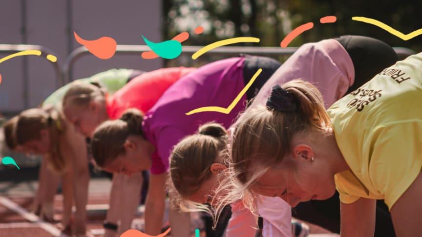 Lägret har blivit väldigt populärt hos tjejer tack vare bredden av sporter som erbjuds. Foto: Stadium Sports Camp