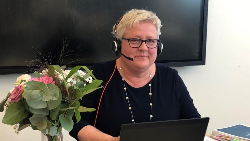 Anette Johnsson är redo att försvara sin avhandling vid denna digitala disputation.