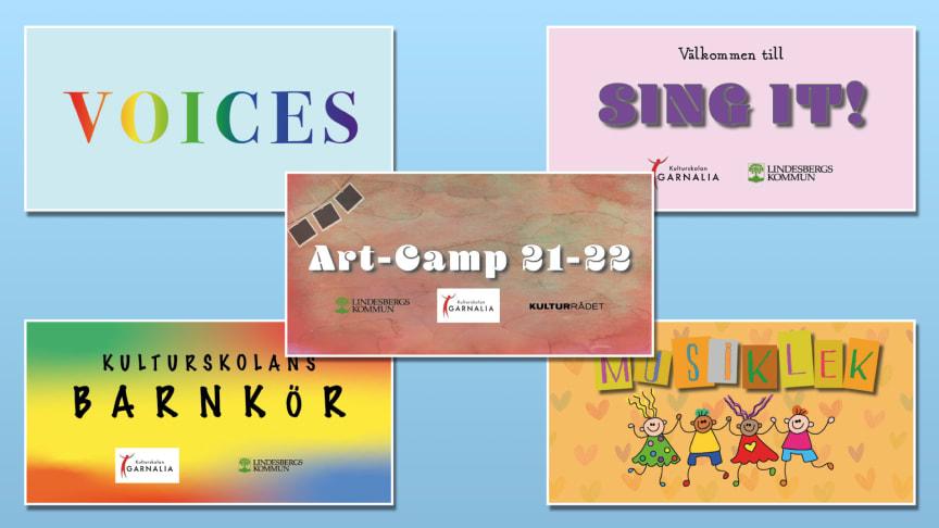 Nu börjar Kulturskolan Garnalias körer - och Art Camp