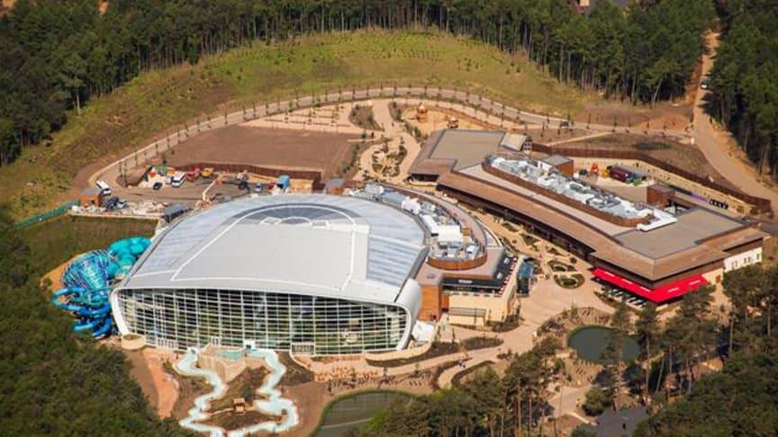 New Center Parcs Village now open to short break guests