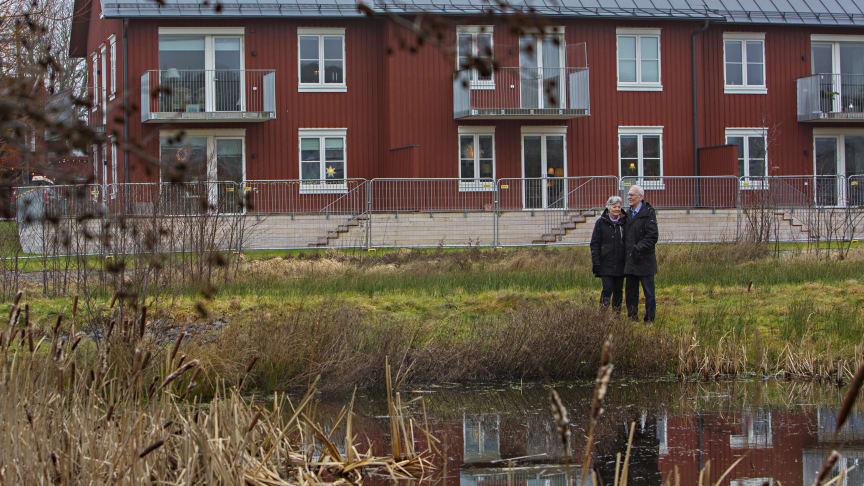 Ingrid och Jan Öberg, HSB brf Amundö Äng.