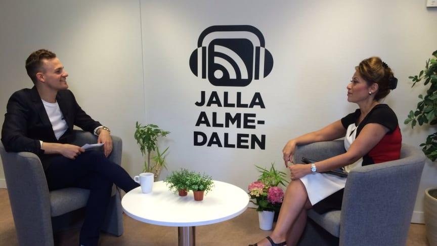 Sodexos VD Azita Shariati intervjuad i radioprogrammet Jalla Almedalen 2016