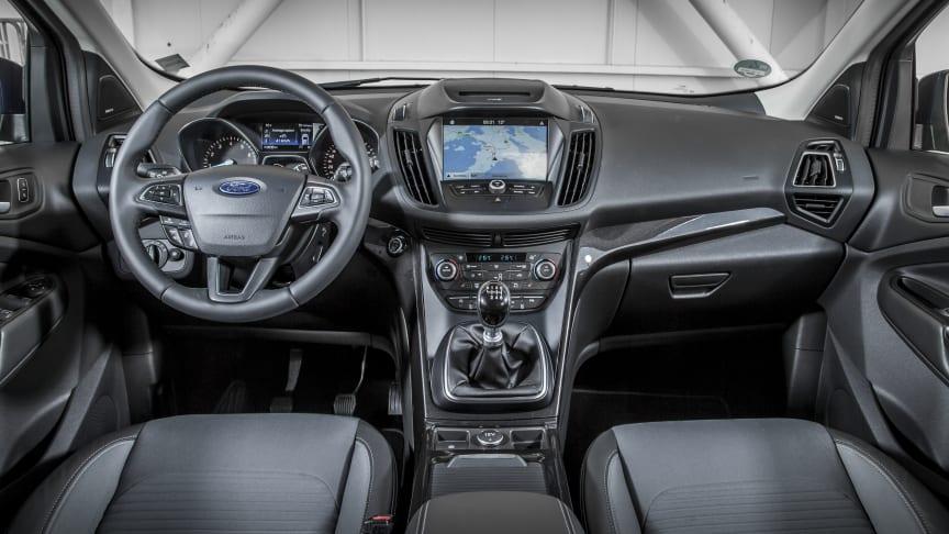 Ford Kuga interiør