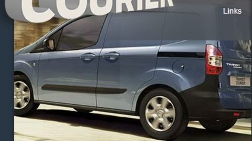 Ford Transit Courier Press Kit