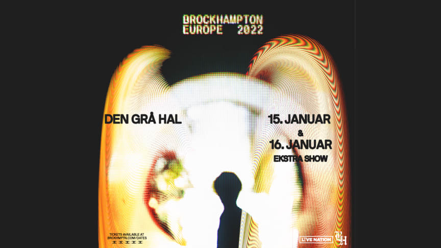 Koncertudskydelse + ekstrakoncert: Brockhampton 15. + 16. januar @ Den Grå Hal