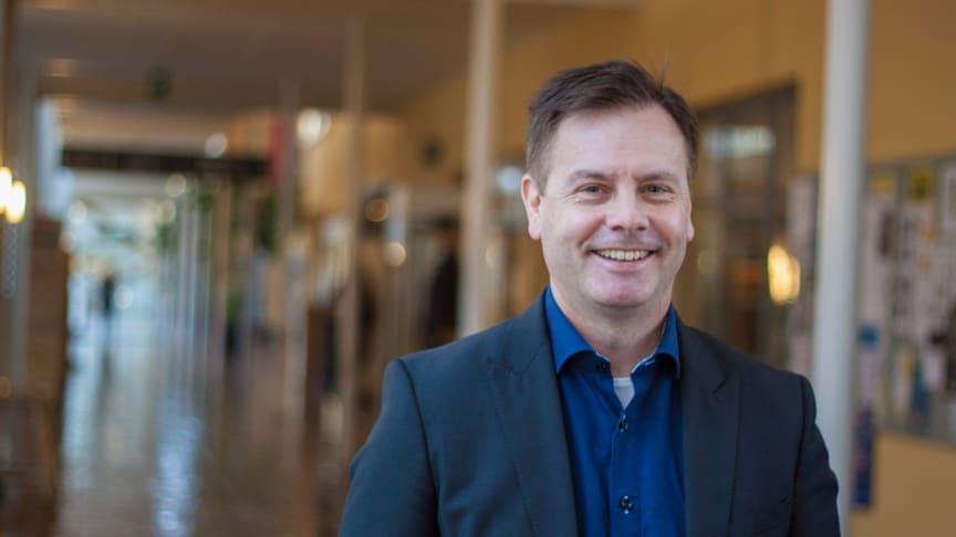 Magnus Isaksson, vicerektor vid Högskolan i Gävle. Foto: Anna Sällberg, HiG
