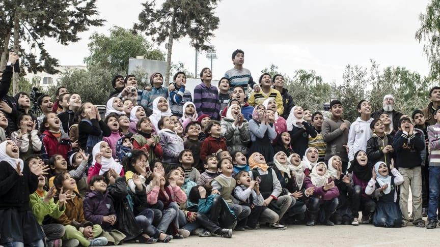 Bild från tidigare turné i Jordanien. Foto: Tomas Blideman.