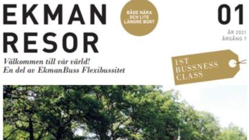 EKMANRESOR 1ST BUSSNESS CLASS LANSERAR EN HÄRLIG OCH INSPIRERANDE SOMMARKATALOG FÖR HEMESTRANDE