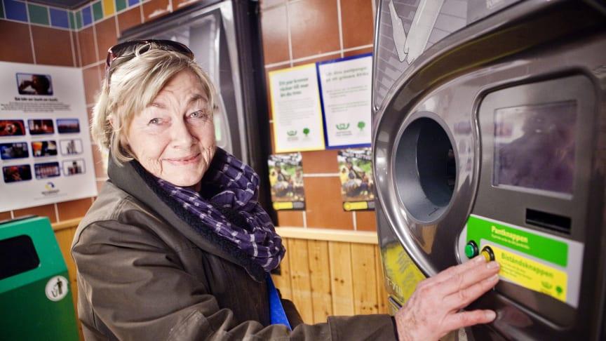 Rekordmycket pantpengar till bistånd – stockholmarna generösast i Sverige