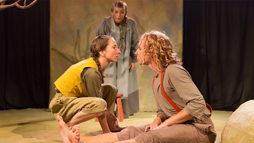 Föreställningen Frö med Teater Tre. Foto: Martin Skoog