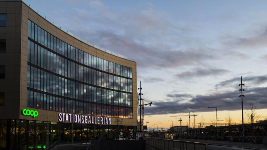 Stationsgallerian i Uppsala            (Fotograf Tor Johnsson)